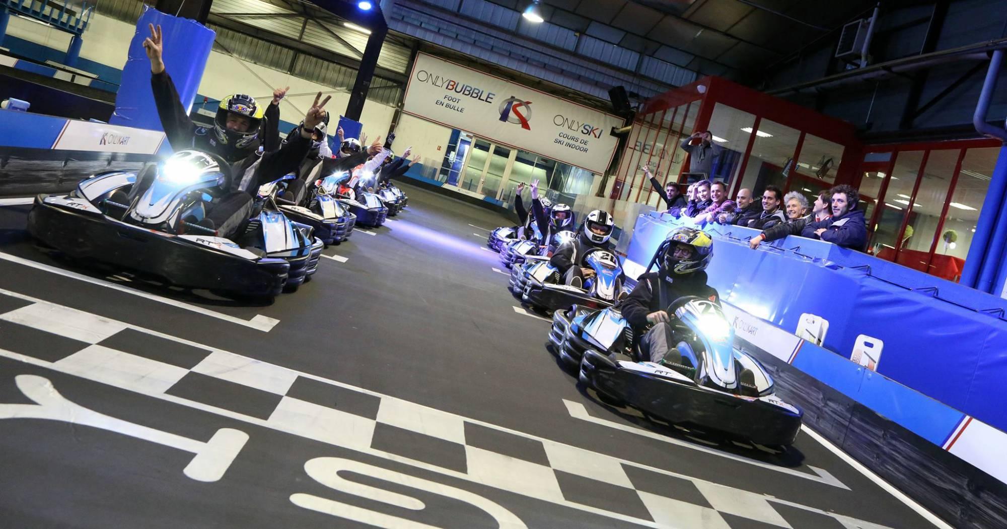 trophée karting électrique lyon