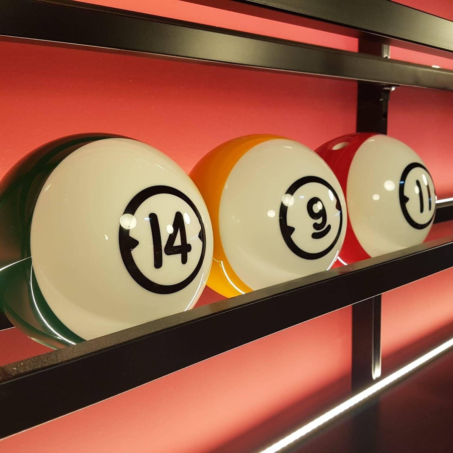 boules de bowling de notre bowling situé à côté de lyon