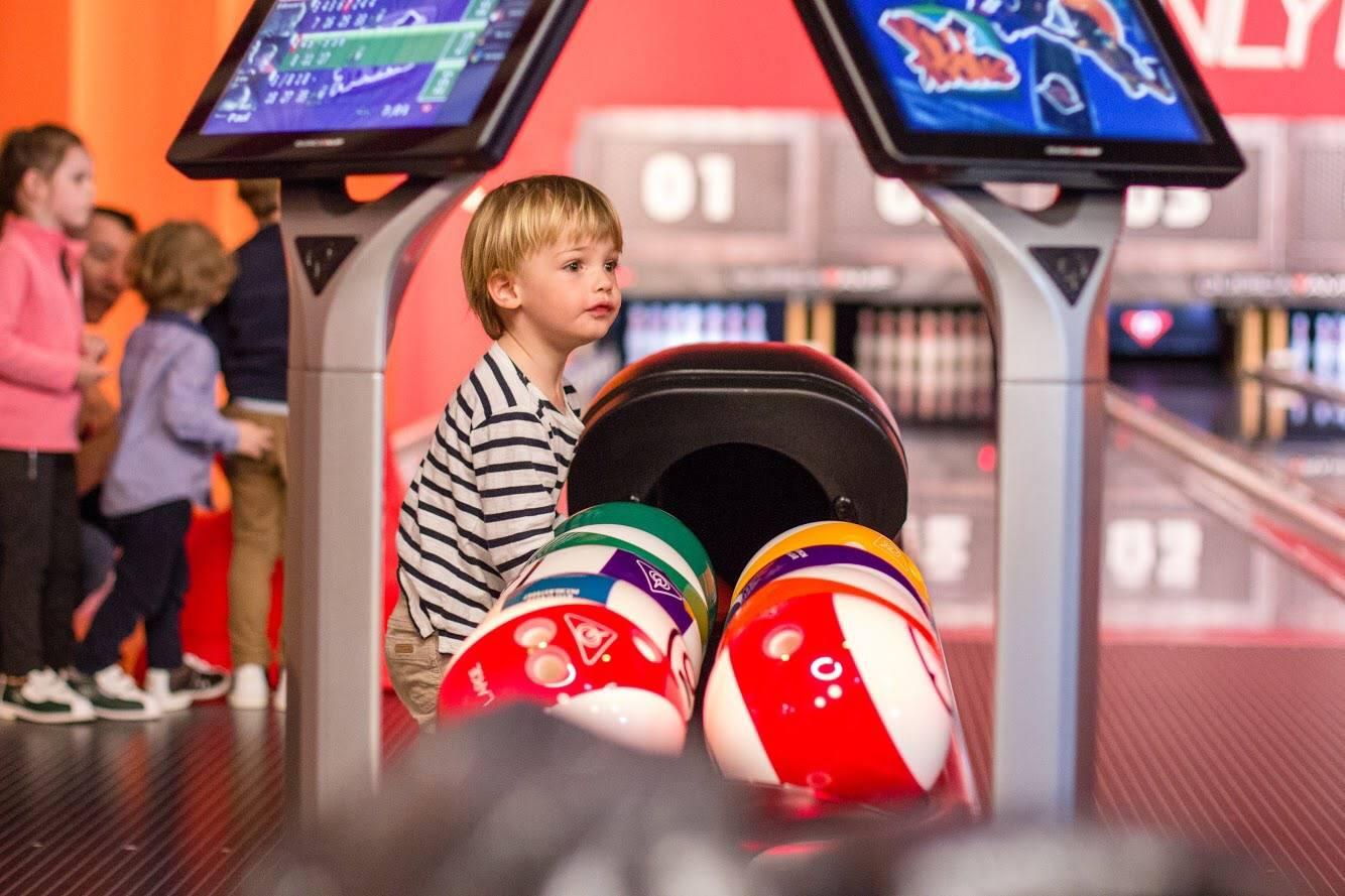 piste de bowling pour enfants