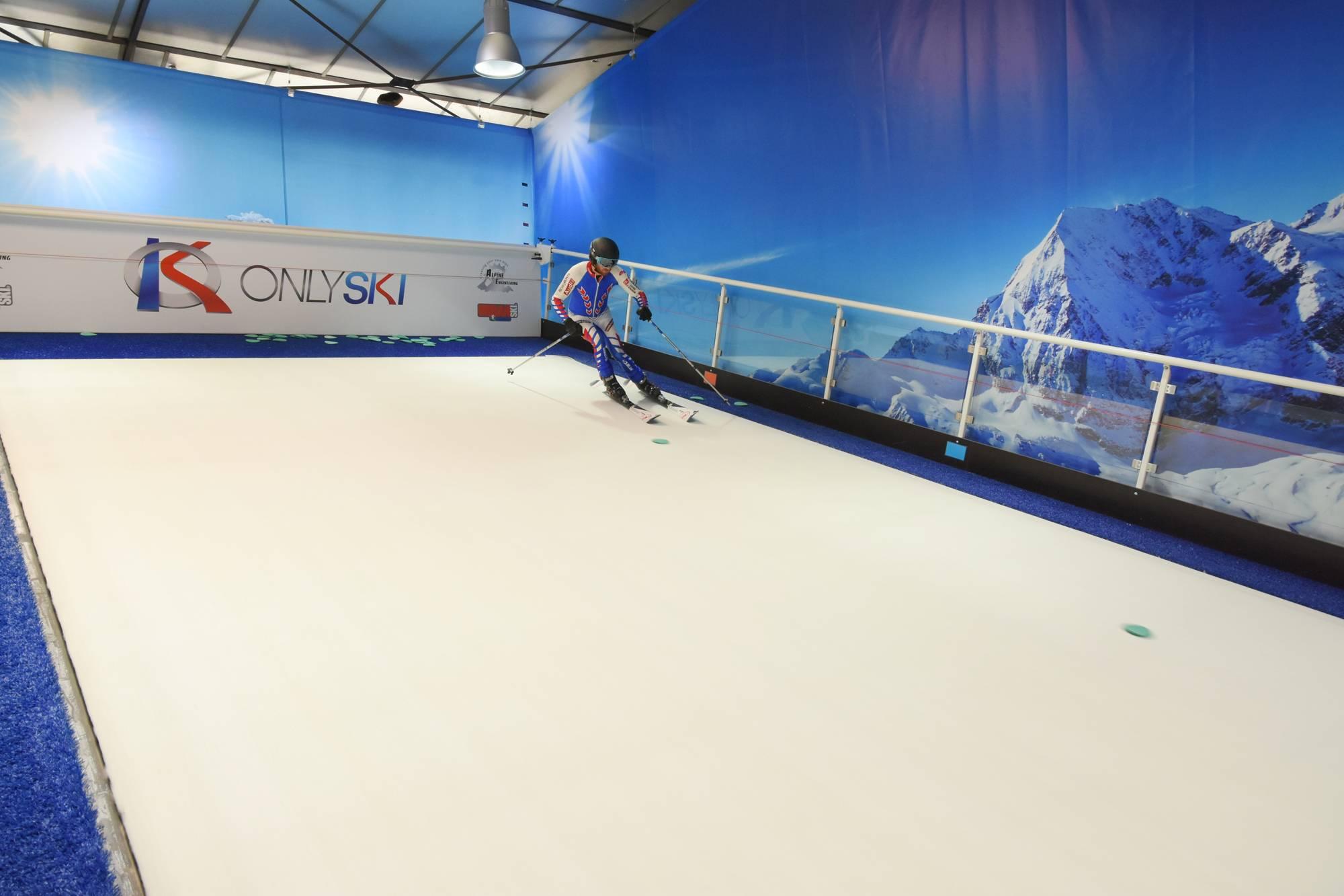 piste de ski indoor à lyon