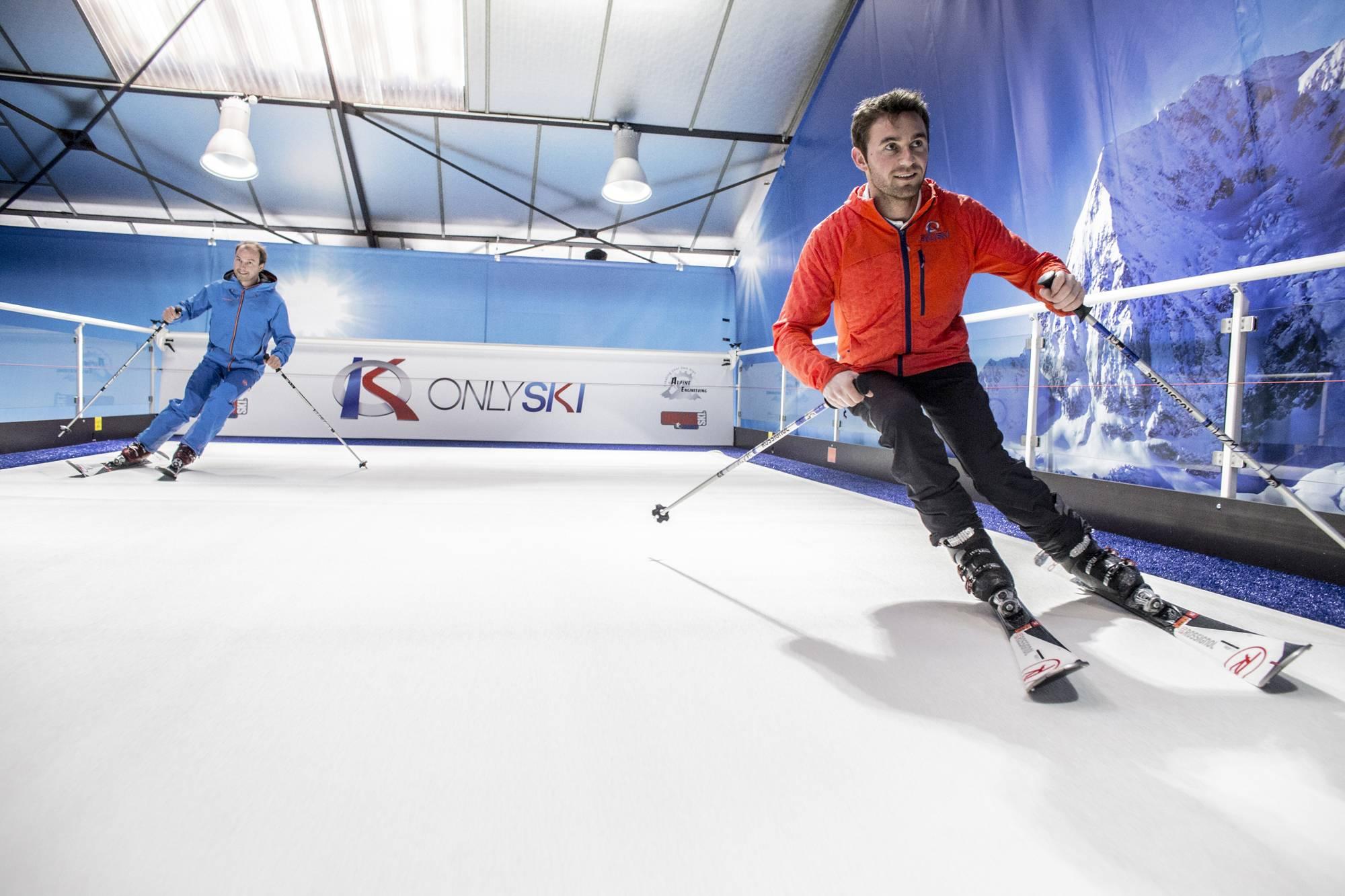 skier toute l'année à lyon