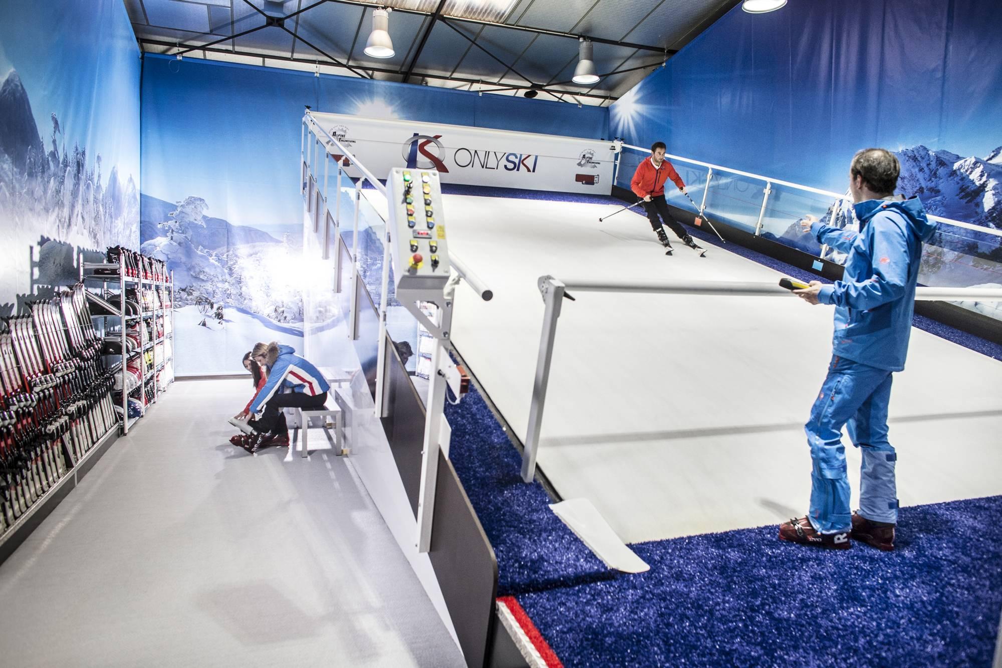 piste de ski indoor près de lyon