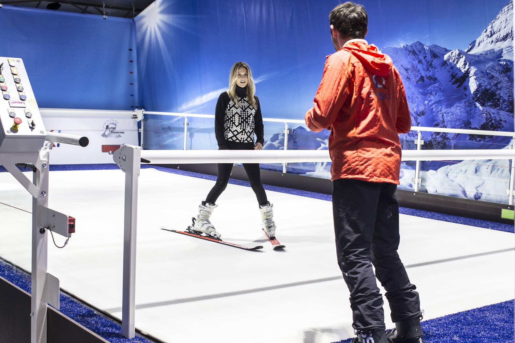 ski en salle à côté de lyon