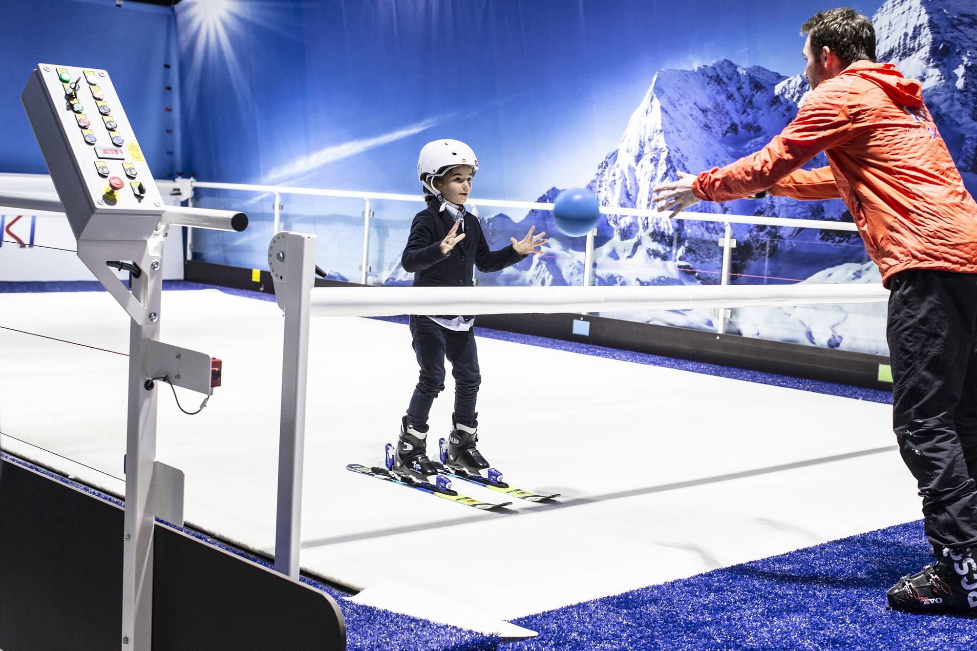 cours de ski enfants à lyon
