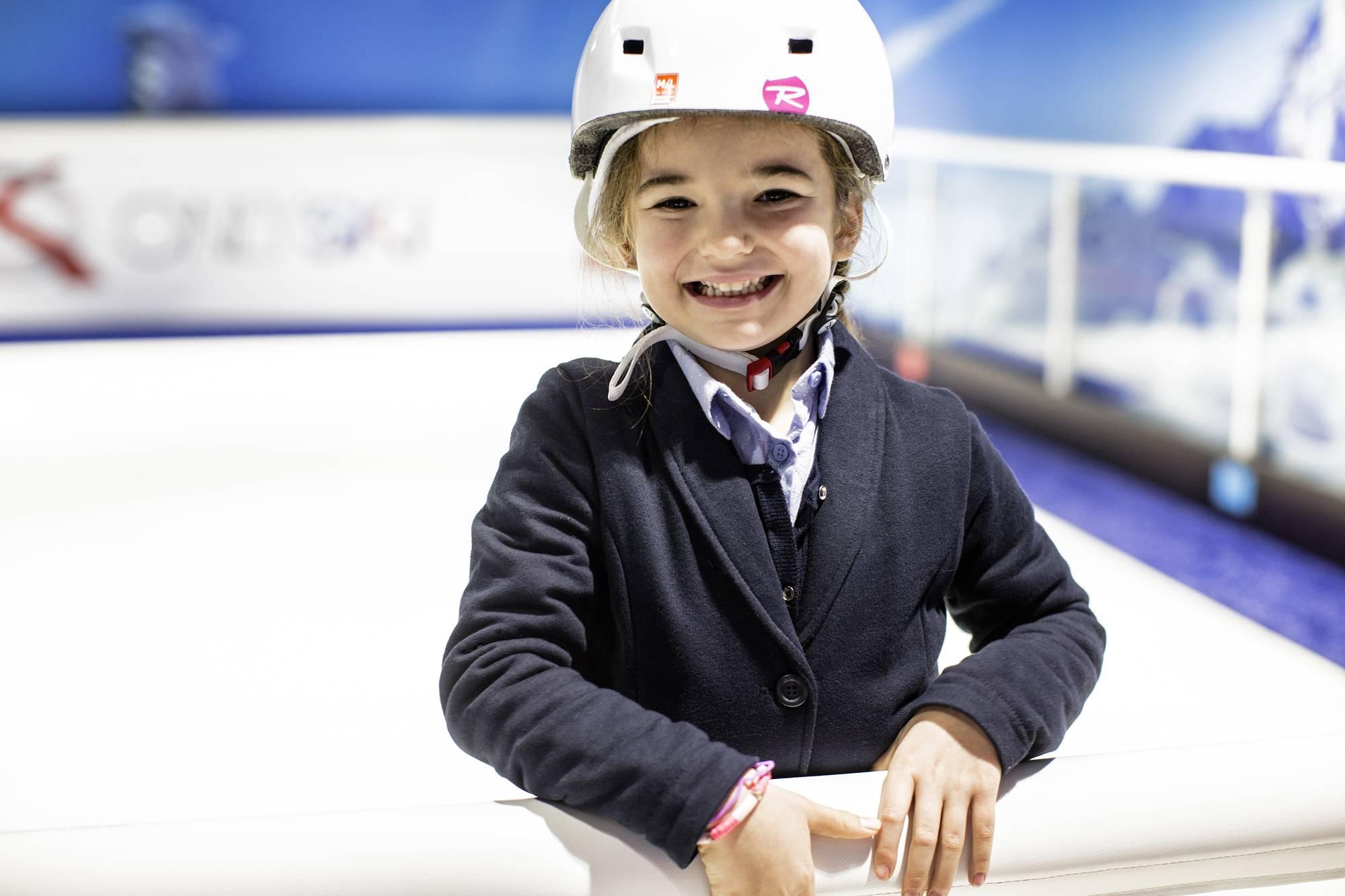 ski indoor pour les enfants à côté de lyon