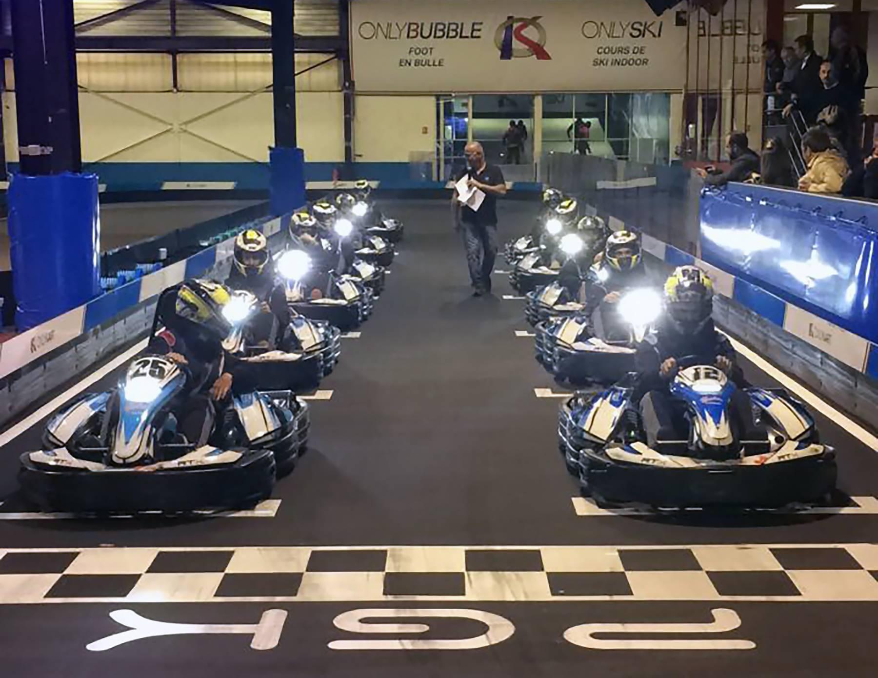 grand prix karting pour EVG près de lyon
