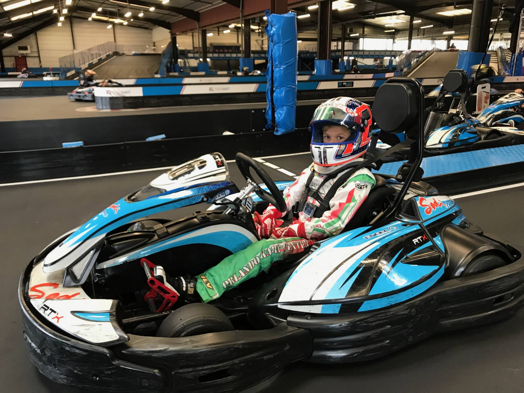 Paul Bocuse junior au karting électrique lyon