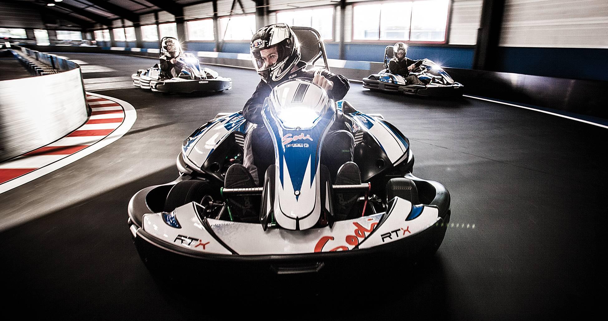 grand prix karting pour evg à lyon