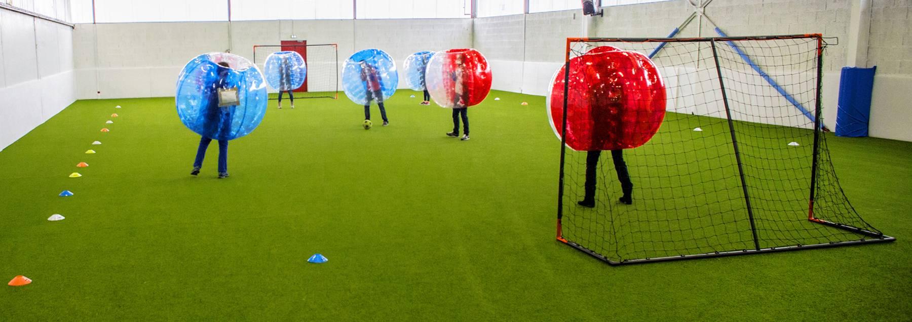 bubble foot à côté de lyon