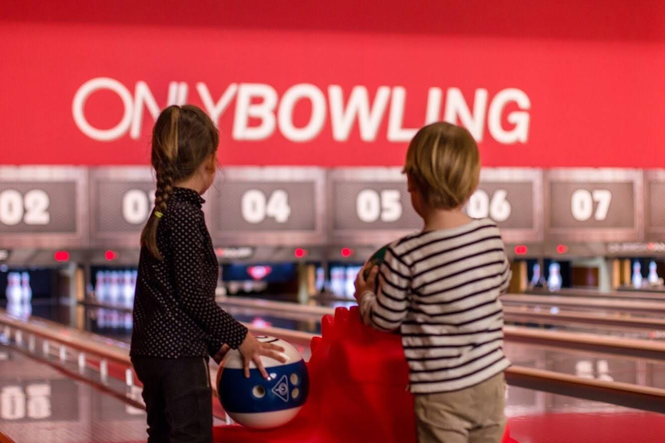 piste de bowling lyon pour enfants