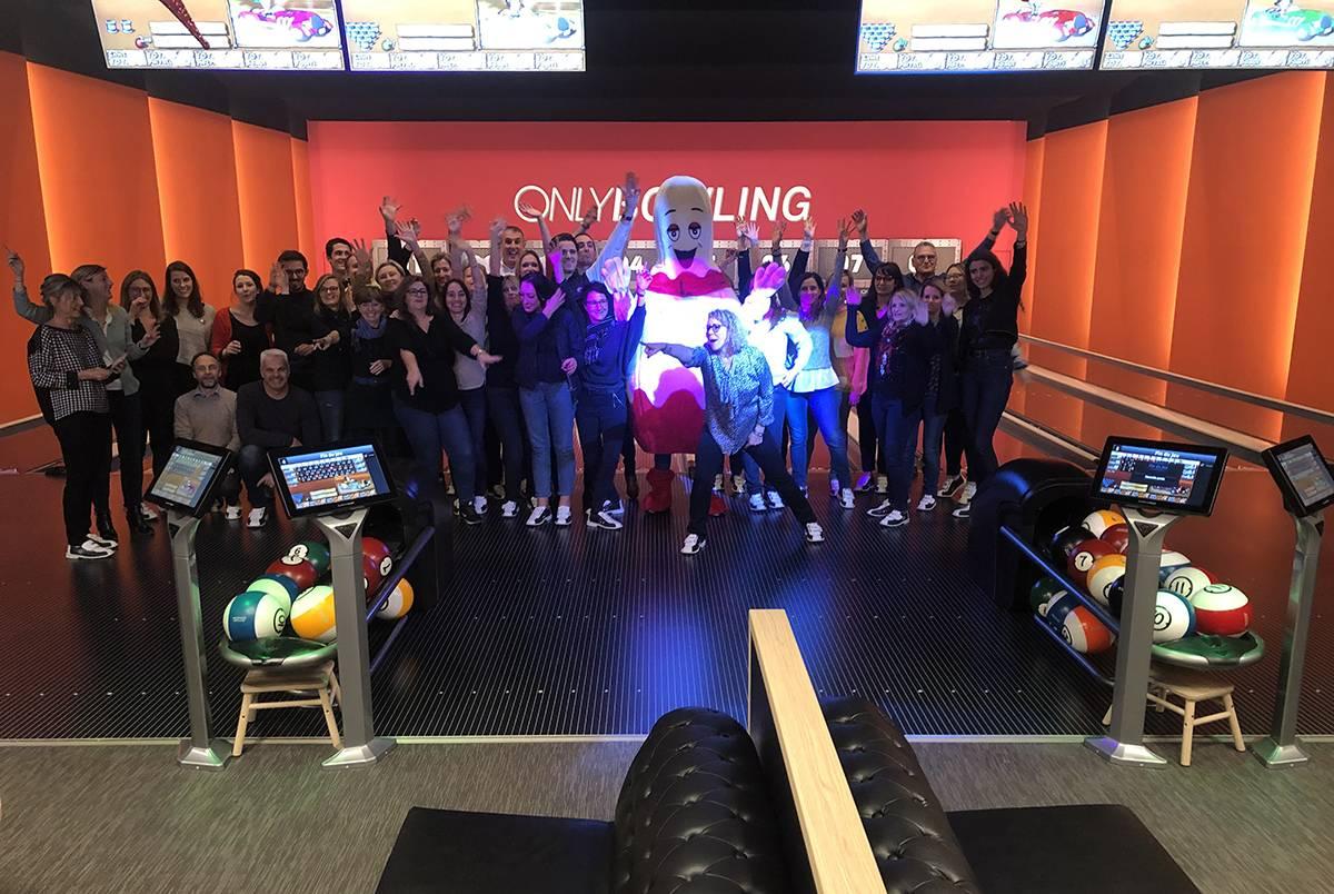 bowling pour séminaire entreprise à lyon