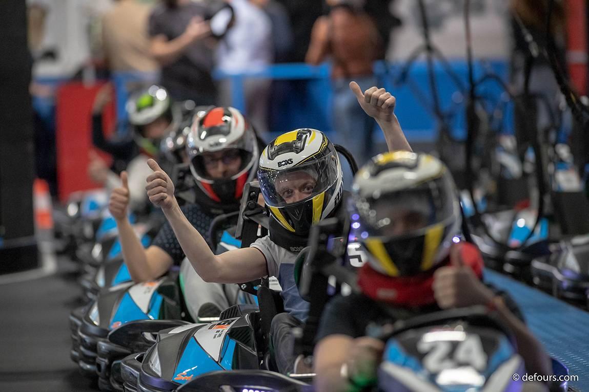 séminaire entreprise lyon karting
