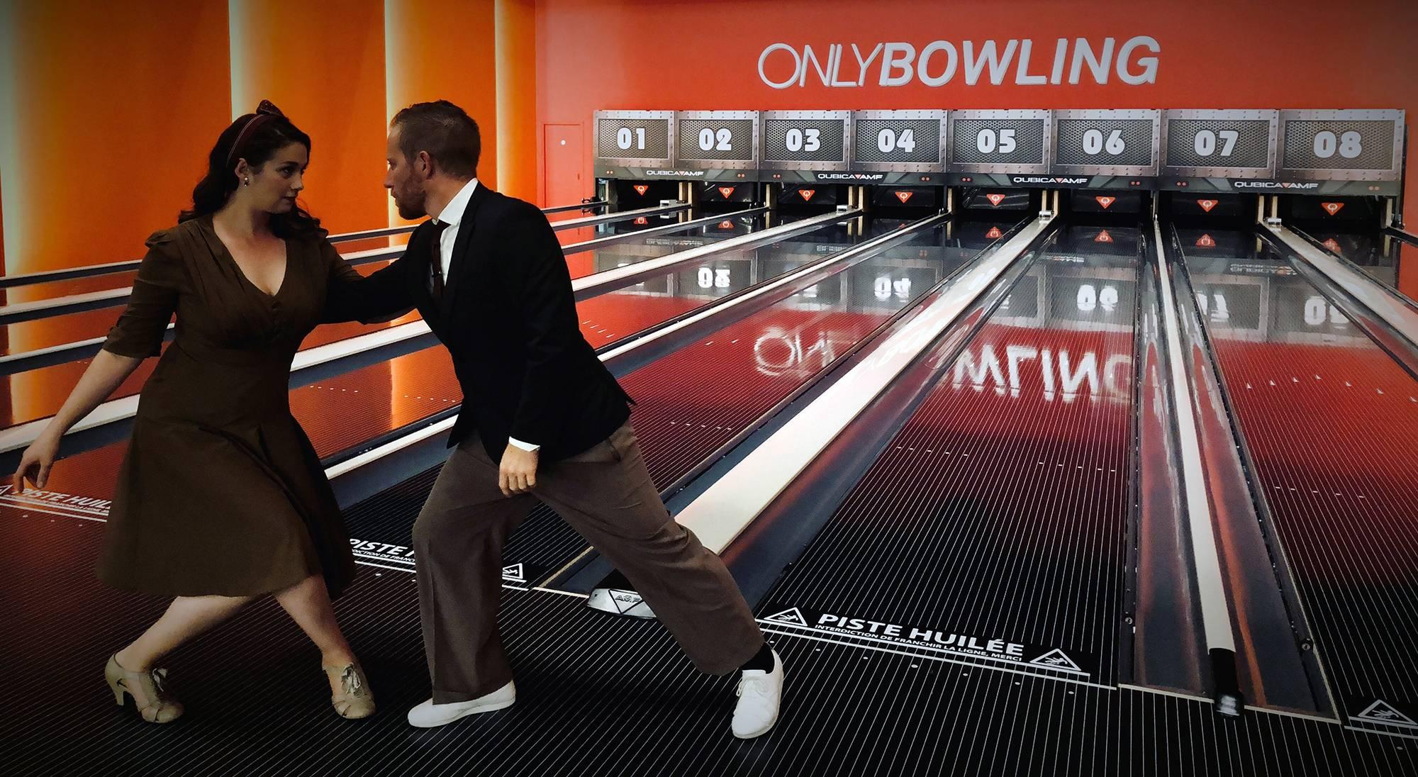 soirée années 50 bowling près de lyon