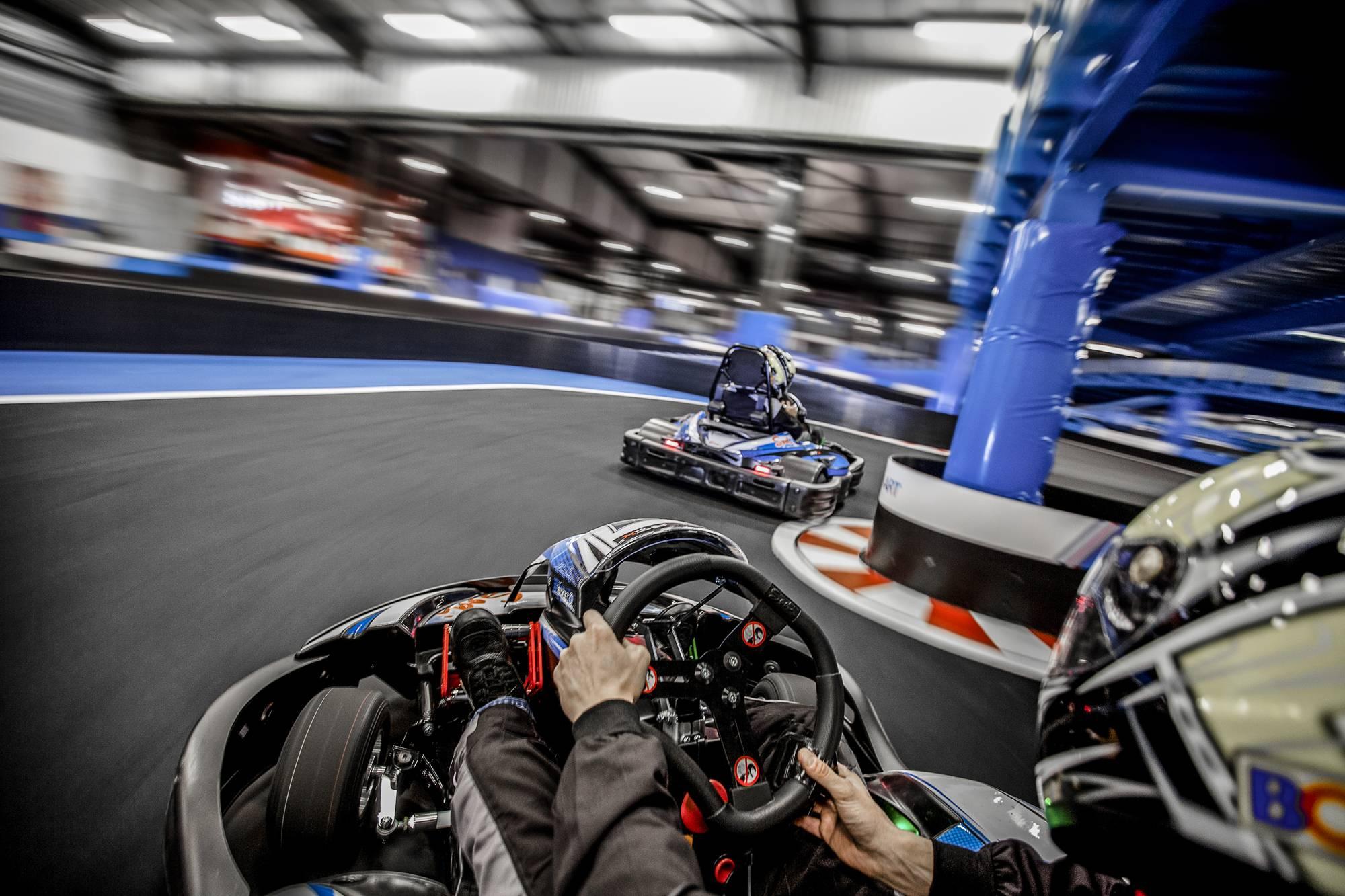 karting électrique indoor à côté de lyon