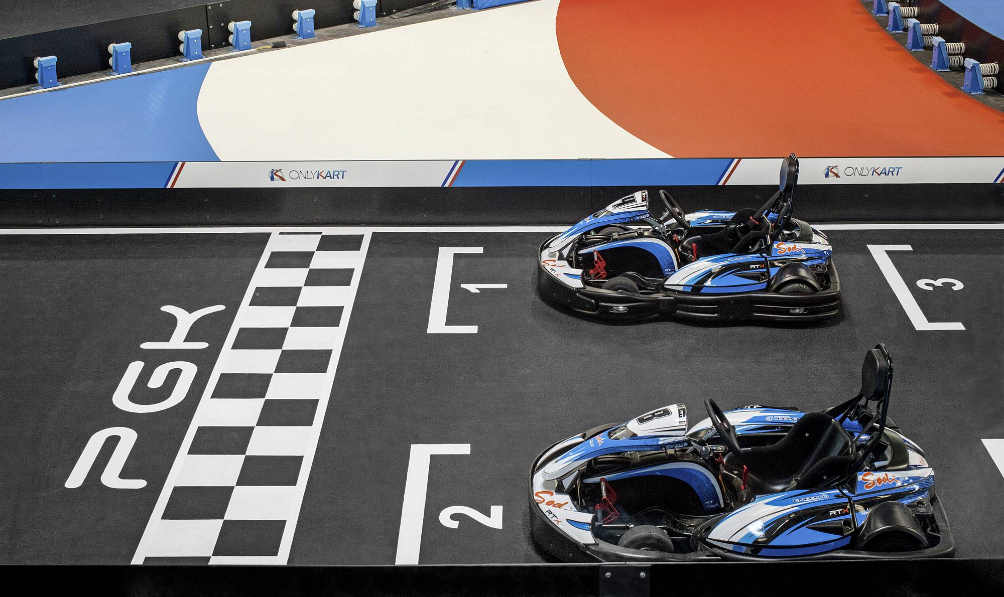 déroulement challenge karting pour comité d'entreprise