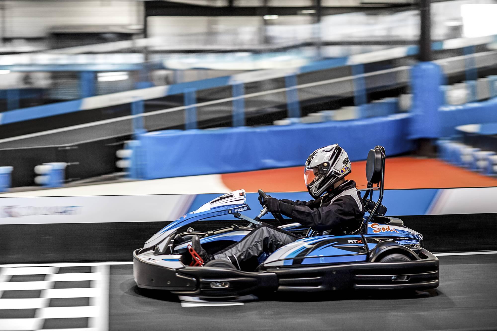 piste de karting indoor in lyon