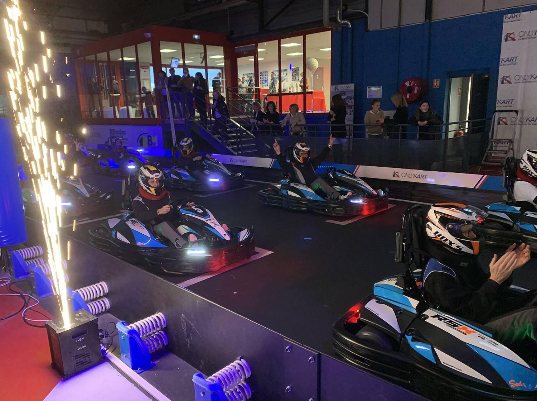 show départ karting électrique lyon