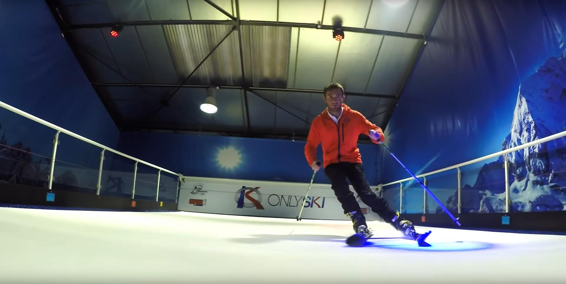 piste de ski indoor à la sortie de lyon
